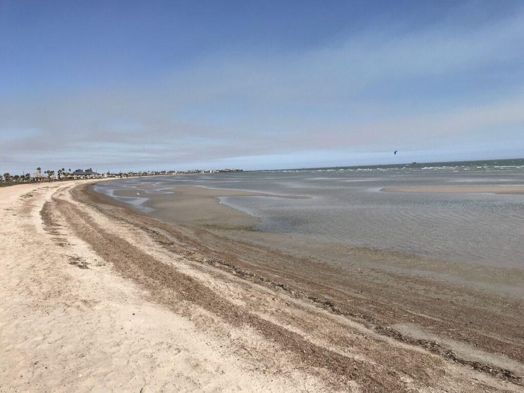 Beach views in Rockport, Texas.