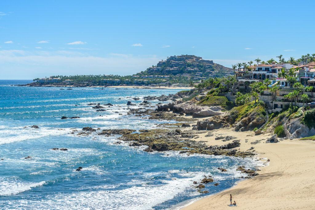 Beach views in San Jose Del Cabo, Mexico.