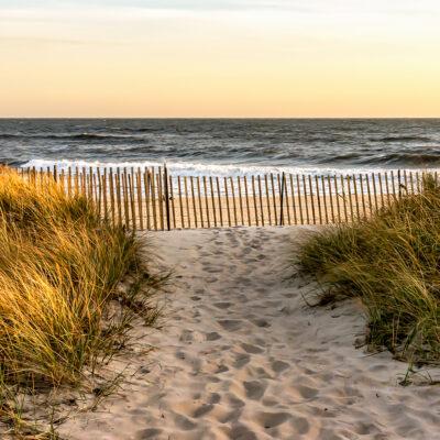 Beach views in the Hamptons.