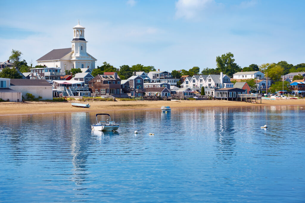 Beach views of Provincetown, Massachusetts.