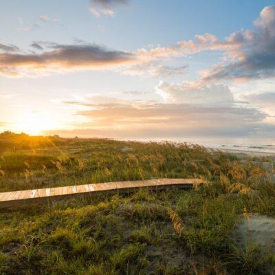 Beach views on beautiful Kiawah Island, South Carolina.