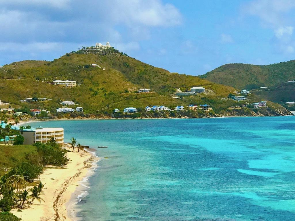 Beach views on Saint Croix.