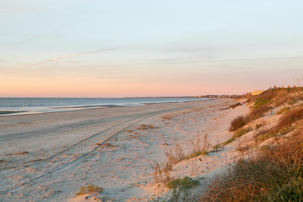 Beach views on Seabrook Island.