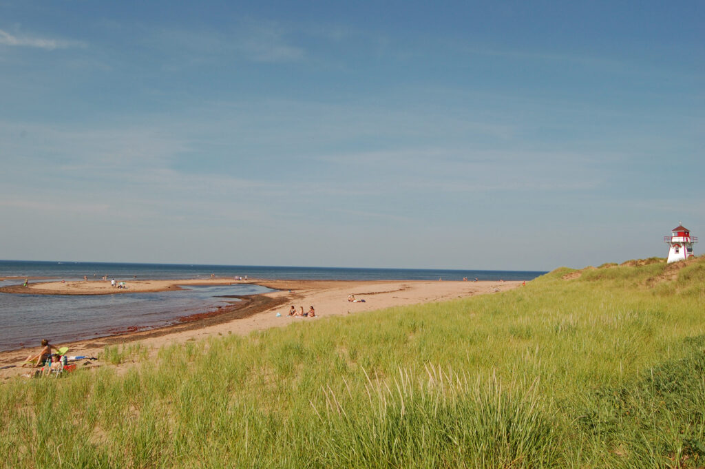 Beaches and beautiful vistas in Prince Edward Island National Park.