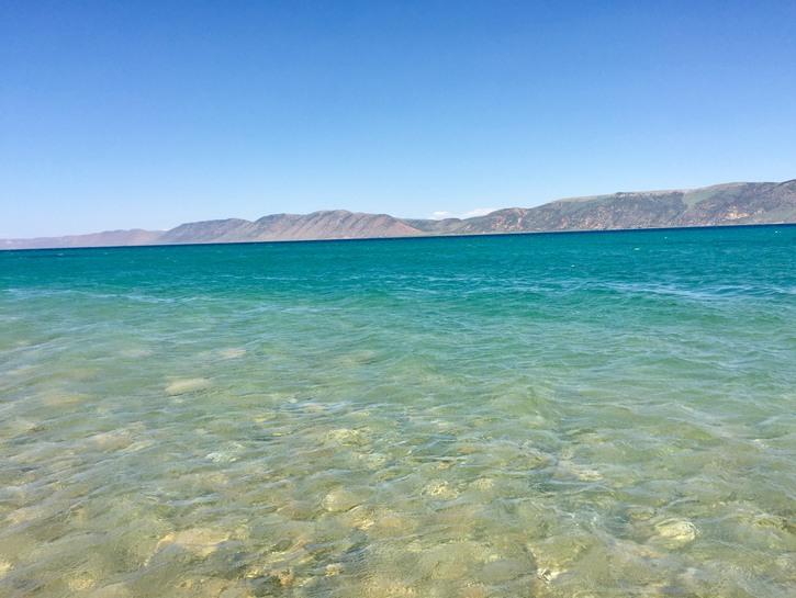 Bear Lake Beach,Garden City, Utah.