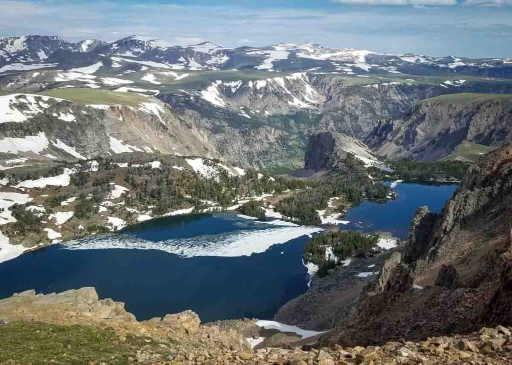 Beartooth Pass in Montana.