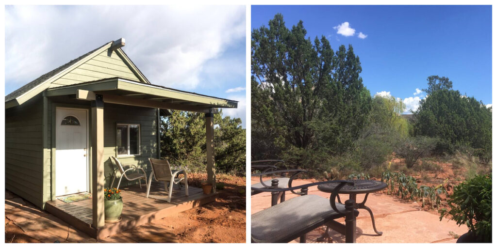 Beaulieu Cottage in Sedona, Arizona.