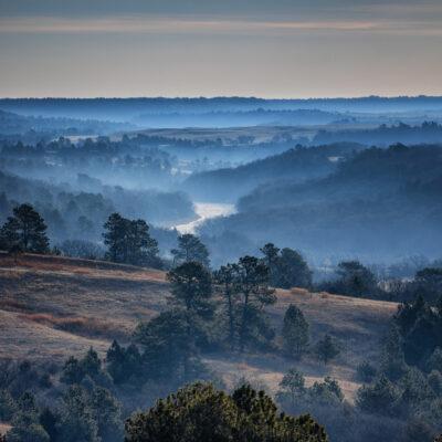 Beautiful landscape from Valentine, Nebraska.
