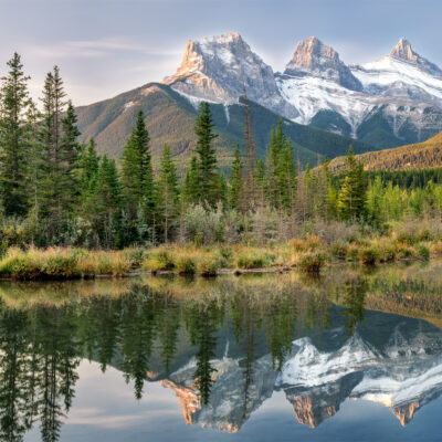 Beautiful landscape in Canmore, Alberta.