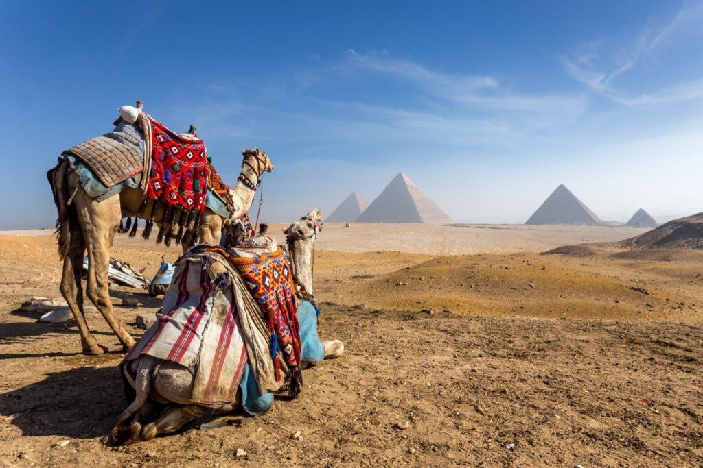 Beautiful landscape in Egypt.
