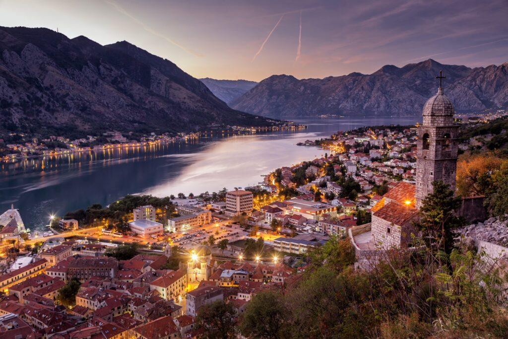 Beautiful landscape in Montenegro.