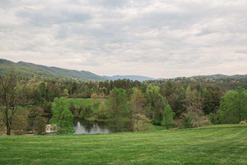 Beautiful landscape near Blackberry Farm.