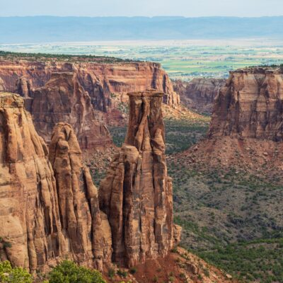 Beautiful landscape of Colorado National Monument.