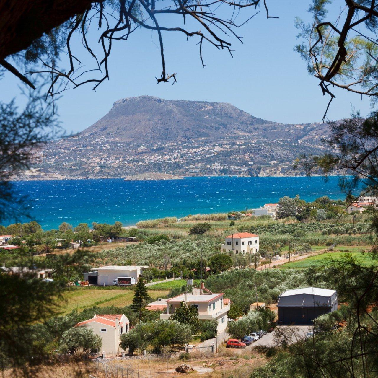 Beautiful landscape of Crete, Greece.
