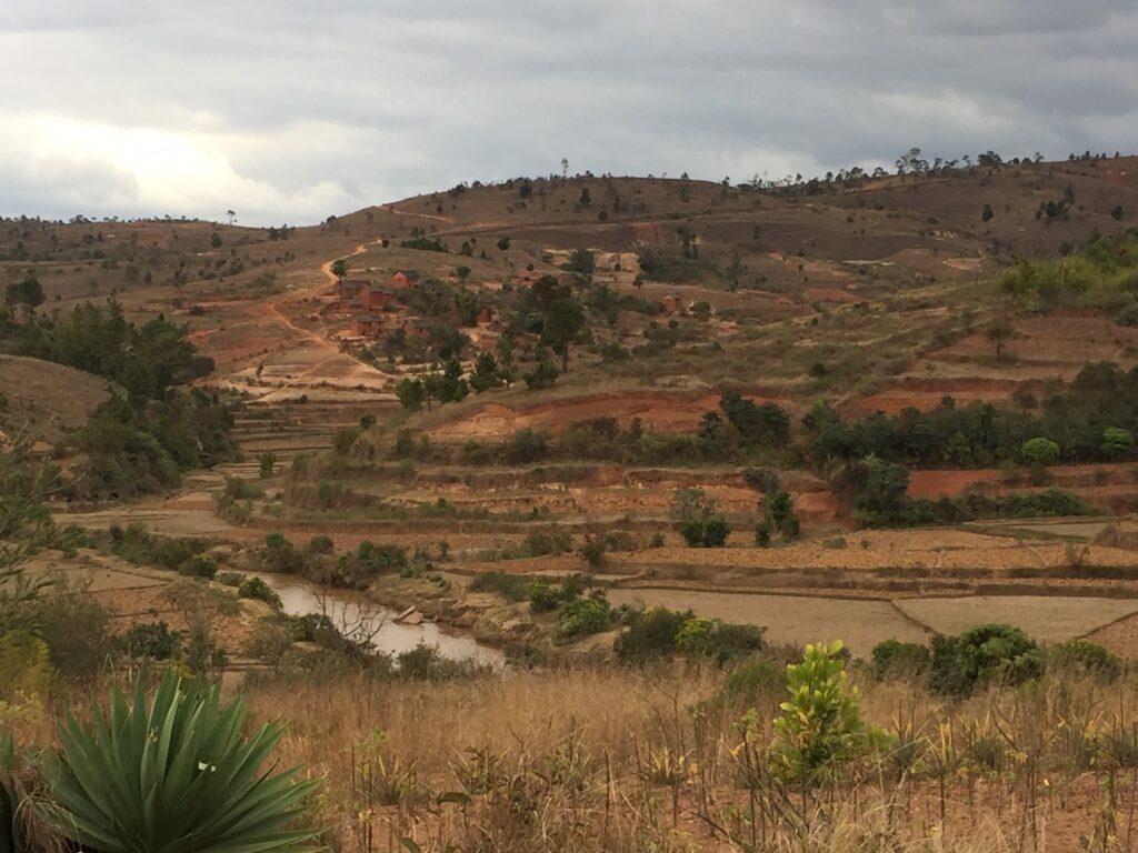 Beautiful Madagascar landscape.
