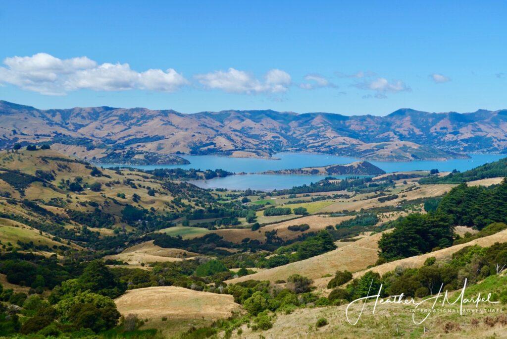 Beautiful New Zealand landscape outside of Christchurch.