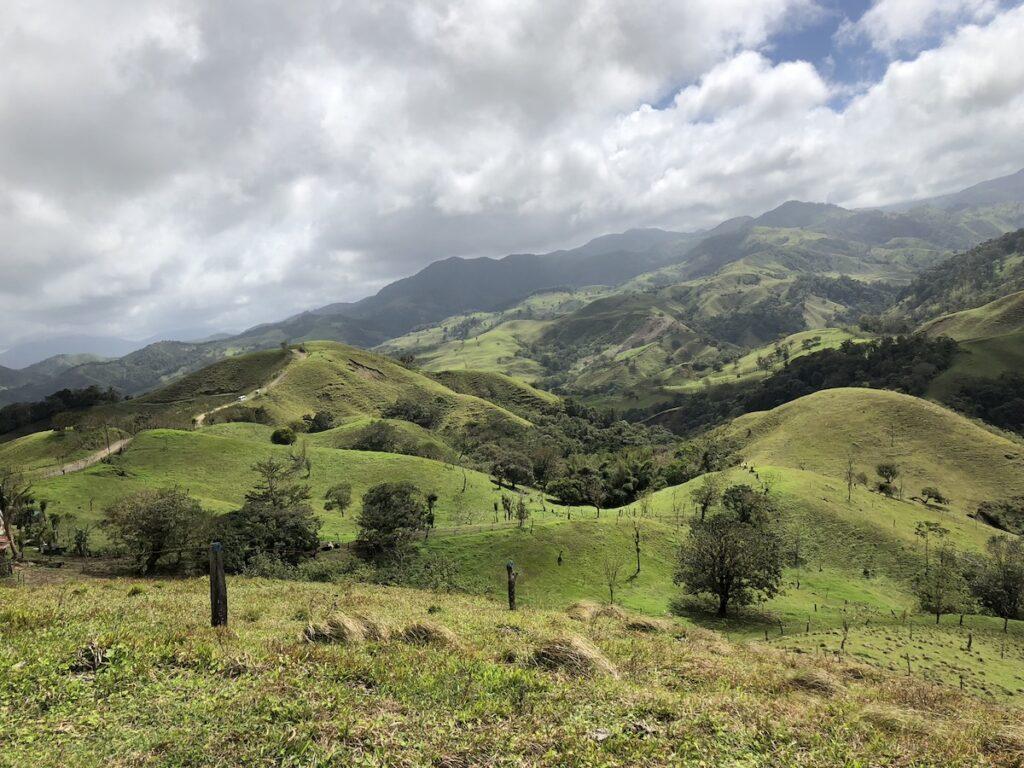 Beautiful scenery in Central America.