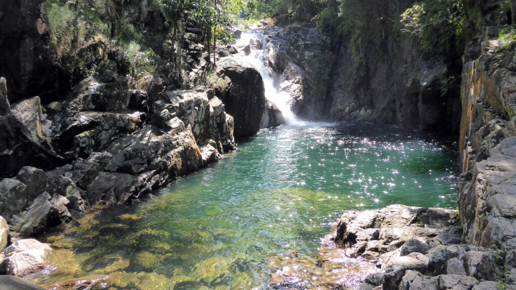 Beautiful scenery in Eungella National Park, Australia.