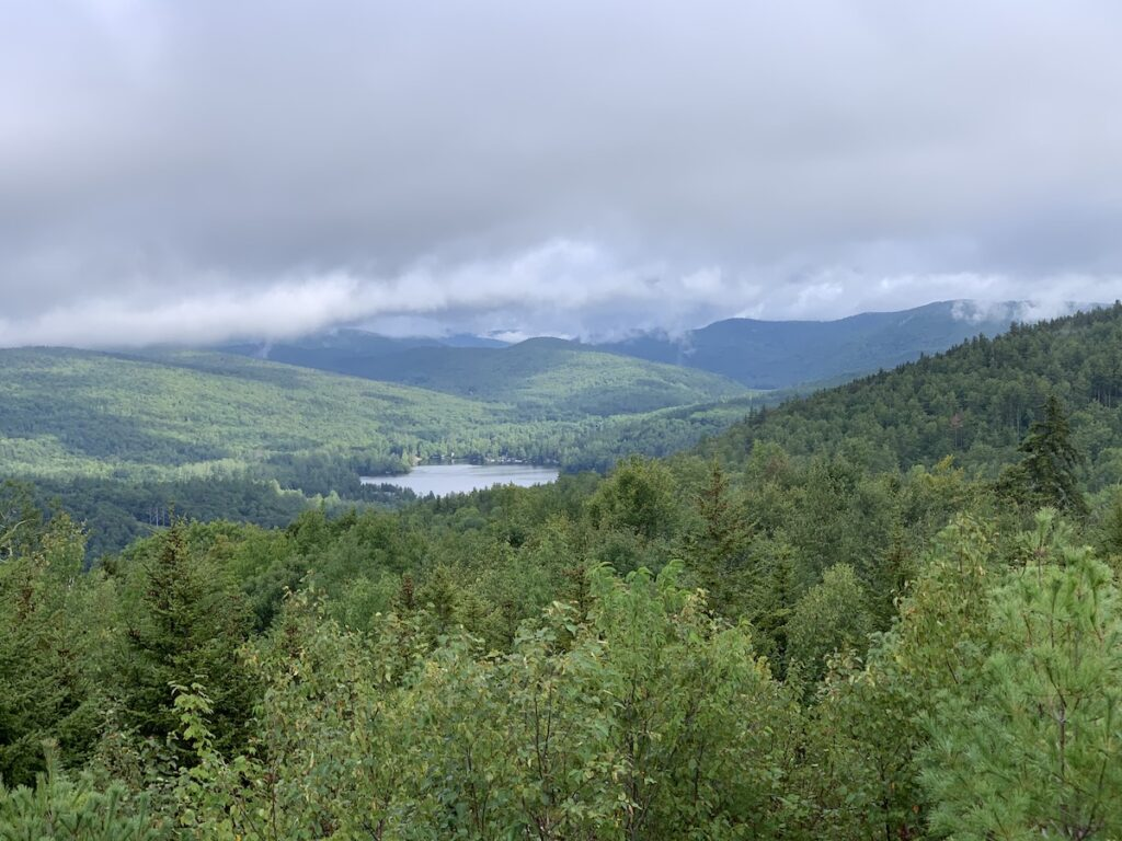Beautiful views of the Vermont countryside.