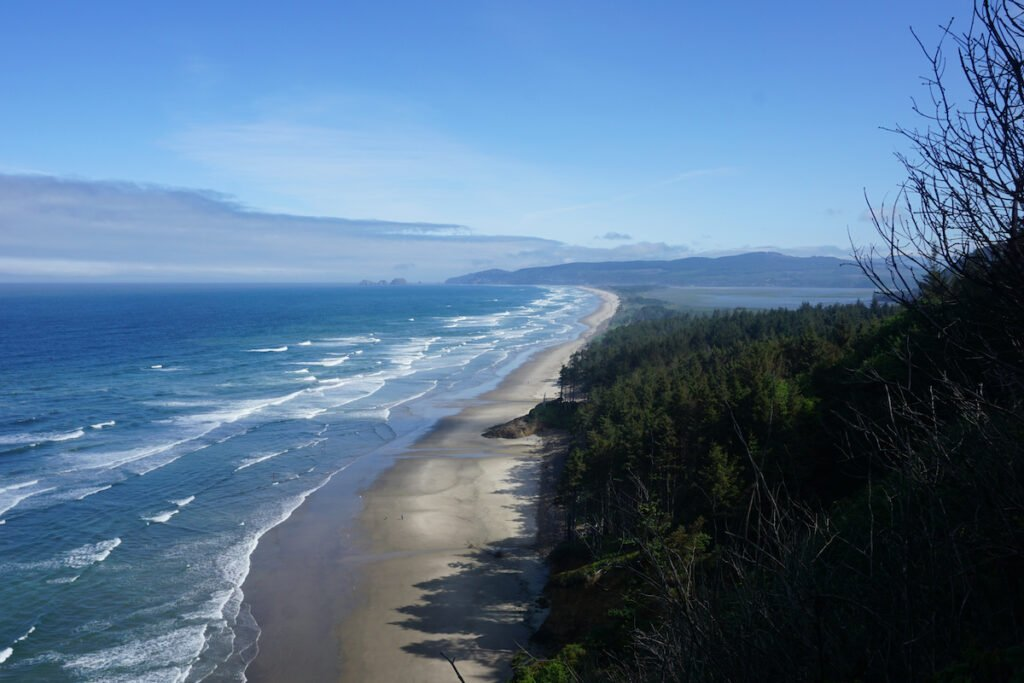 Beautiful vista views from Cape Lookout State Park in Oregon.