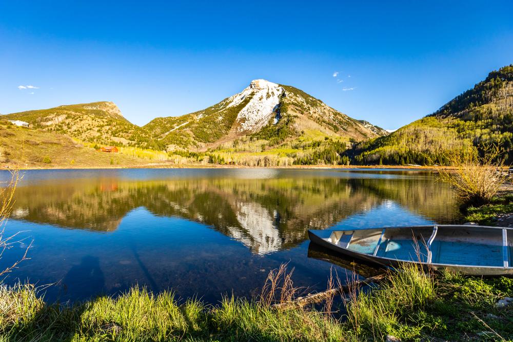 Beaver Lake in Colorado.