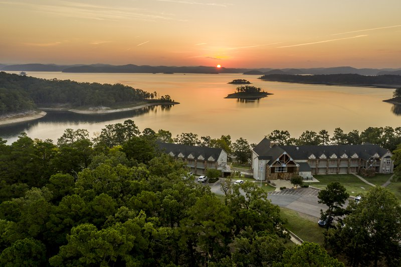 Beavers Bend State Park in Oklahoma.