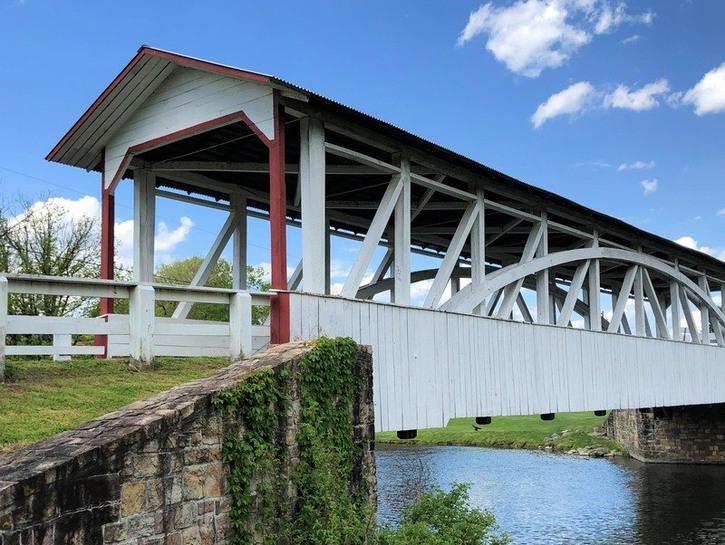 Bedford area covered bridge