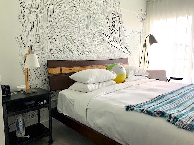 Bedroom at Plunge Beach Resort.
