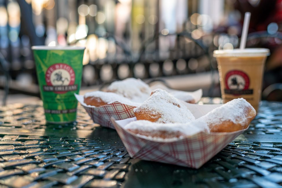 Beignets from Cafe Beignet in New Orleans.