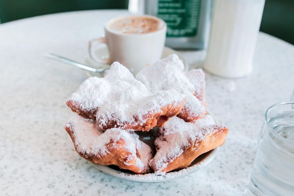 Beignets from Café Du Monde in New Orleans