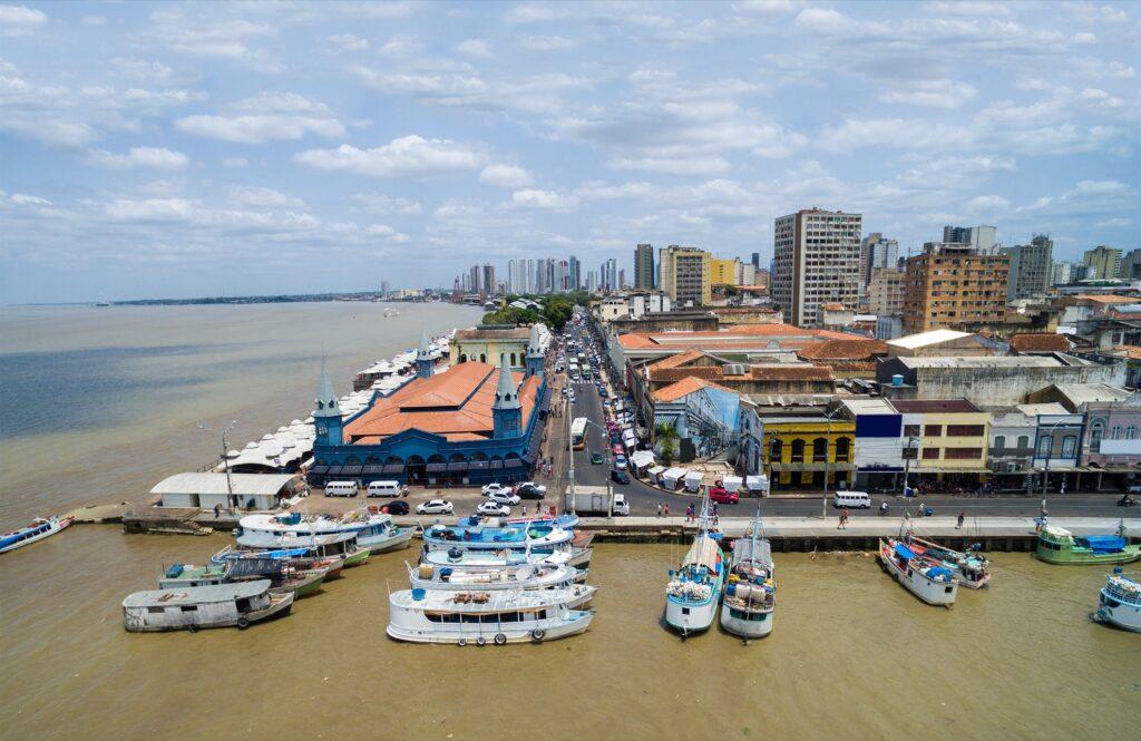 Belém in Brazil.