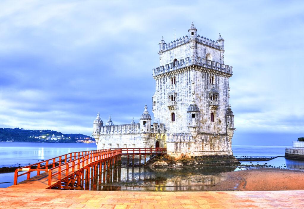 Belém Tower in Lisbon.