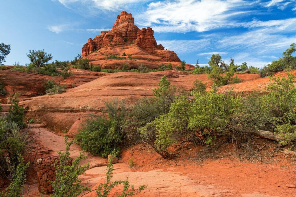 Bell Rock in Sedona, Arizona.