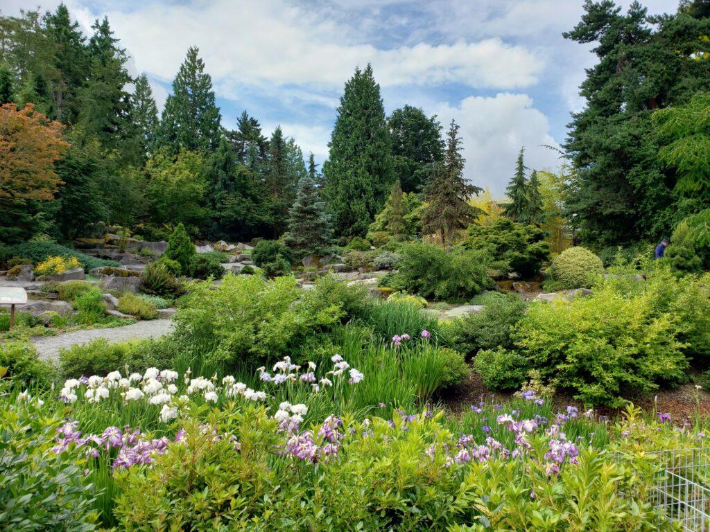 Bellevue Botanical Garden in Washington.