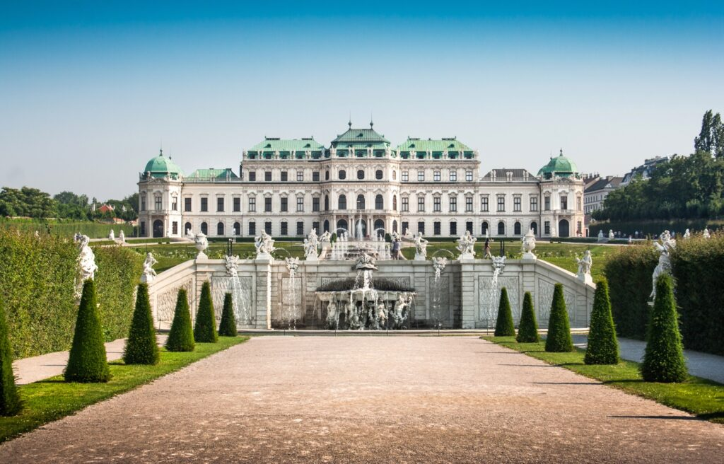 Belvedere in Vienna.