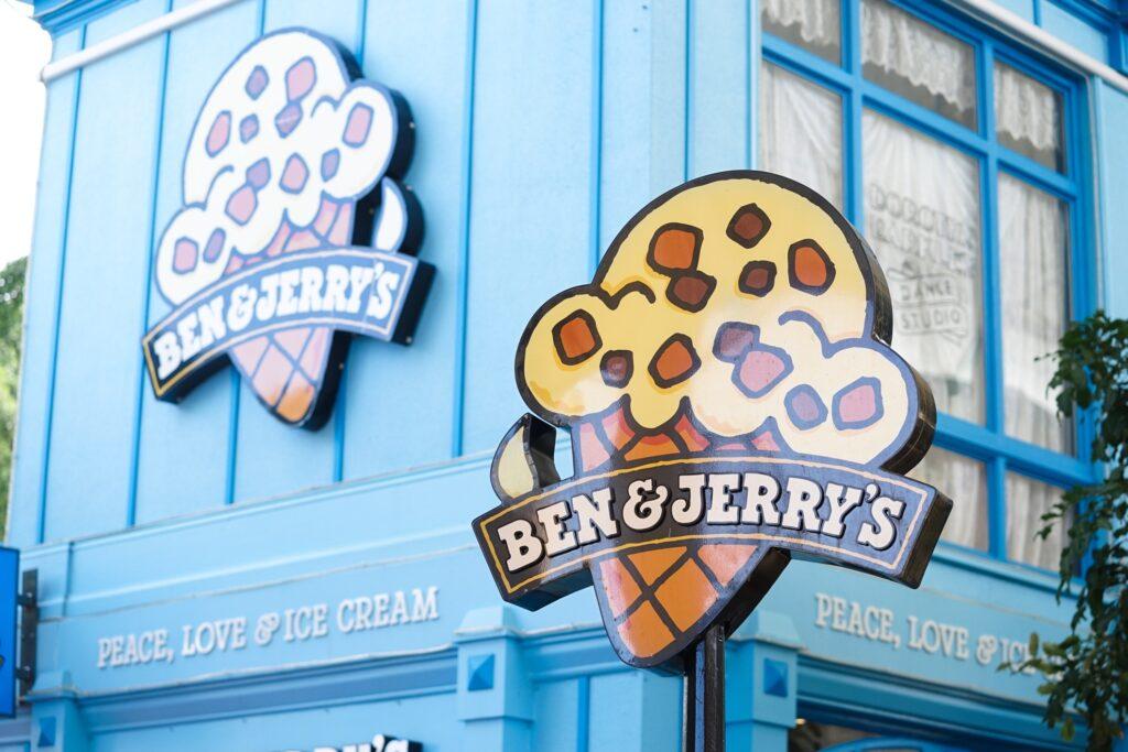 Ben & Jerry's in Burlington, Vermont.