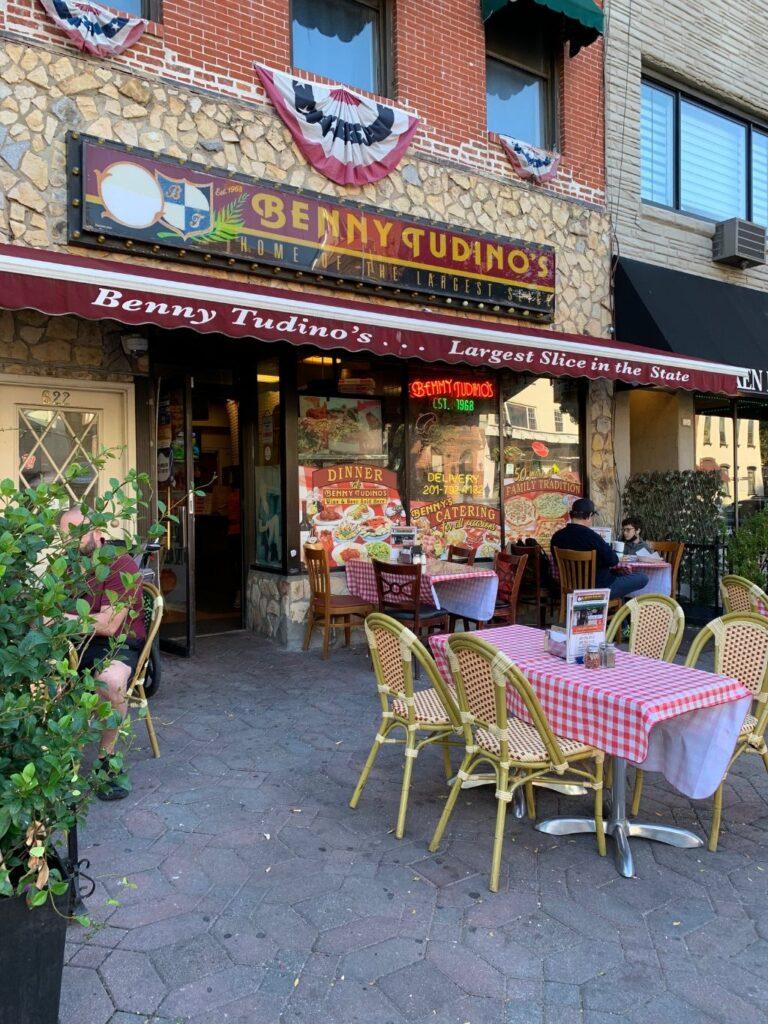 Benny Tudino's in Hoboken.