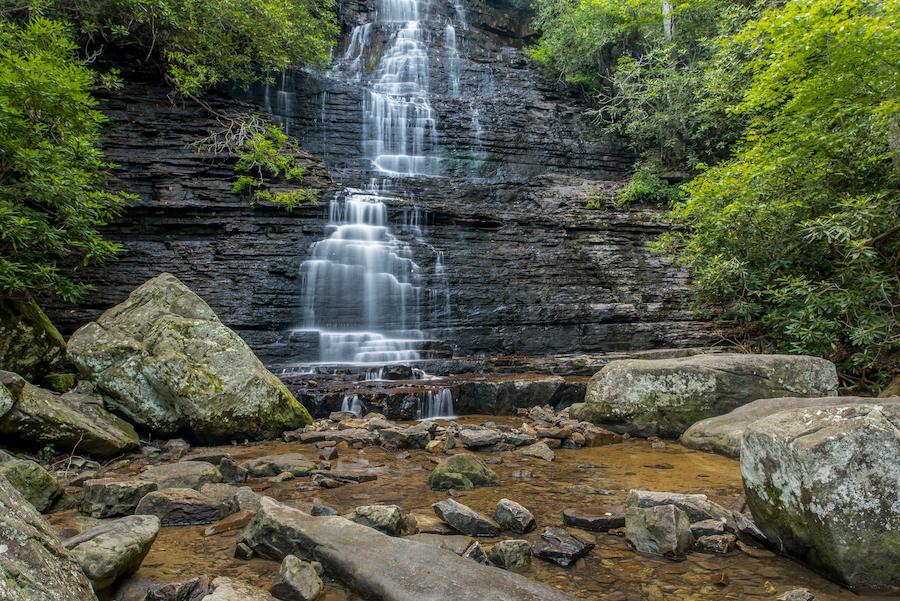Benton Falls in Tennessee.