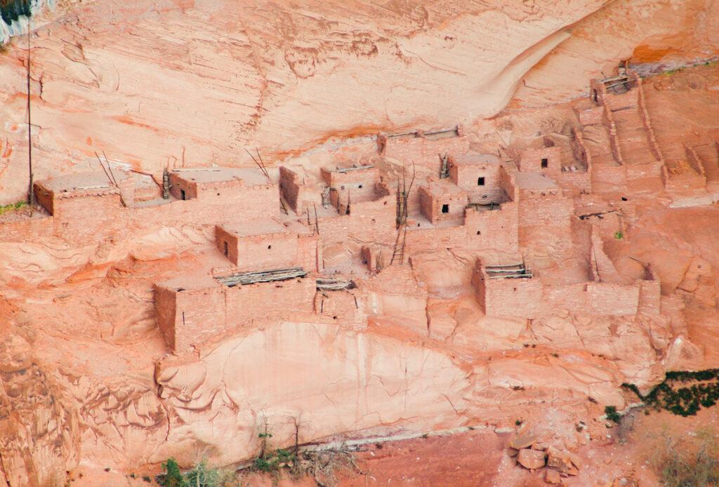 Betatakin, Navajo National Monument, close up.