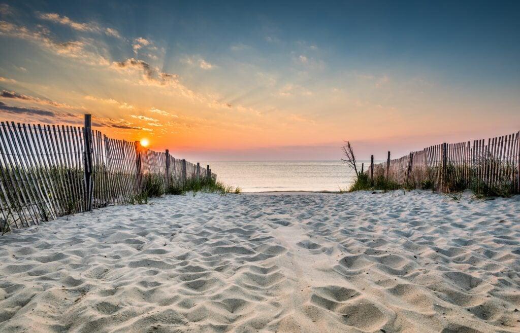 Bethany Beach in Delaware.
