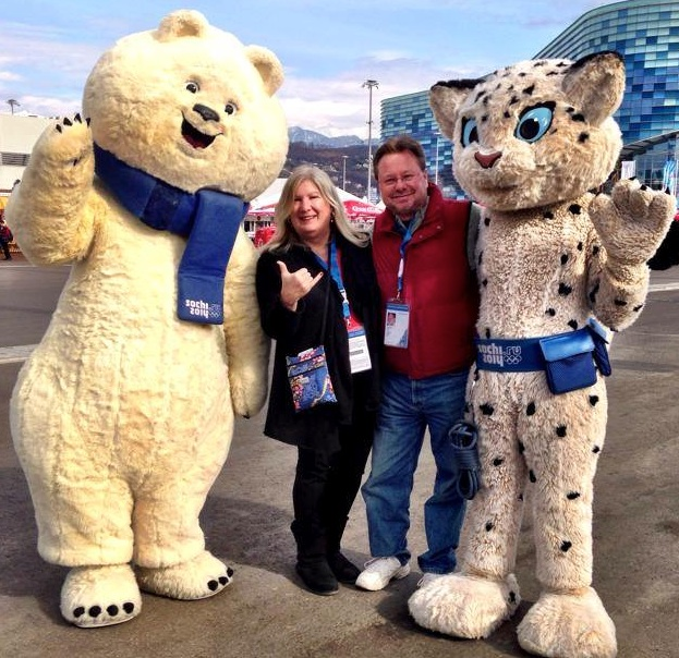 Betsy and Pete Wuebker Sochi, Russia.