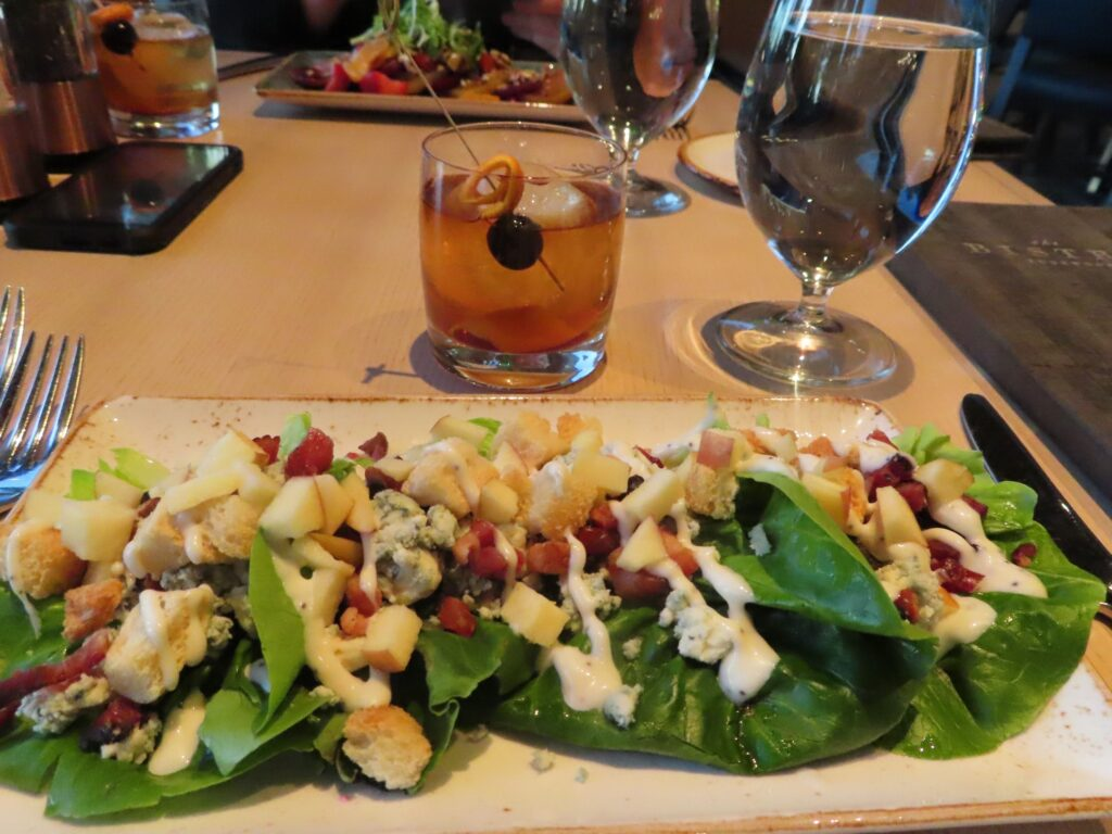 Bibb salad at The Bistro.