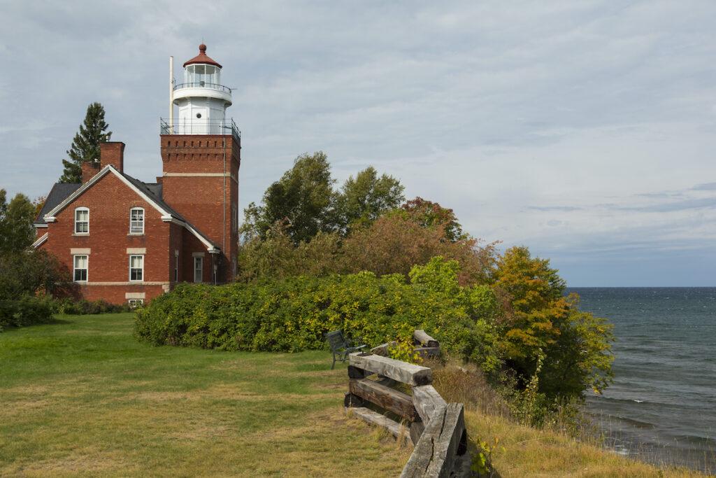 Big Bay Point Lighthouse, Michigan.