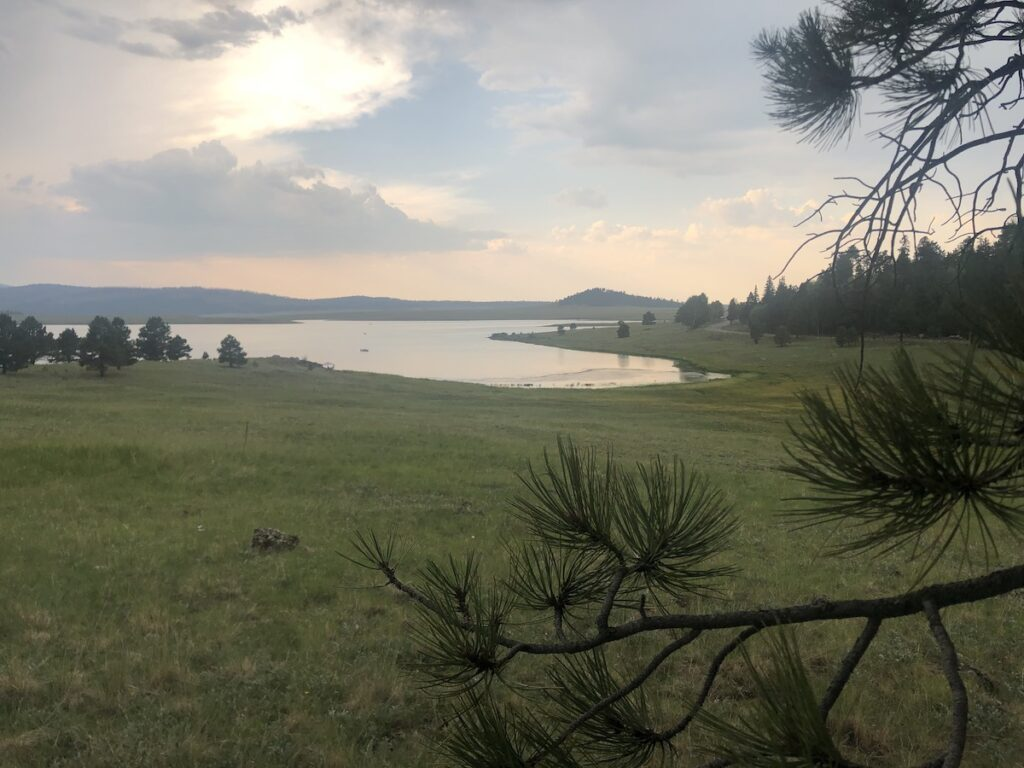 Big Lake in Arizona.