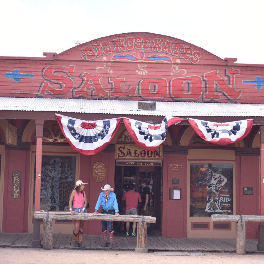 Big Nose Kate's Saloon in Tombstone, Arizona.