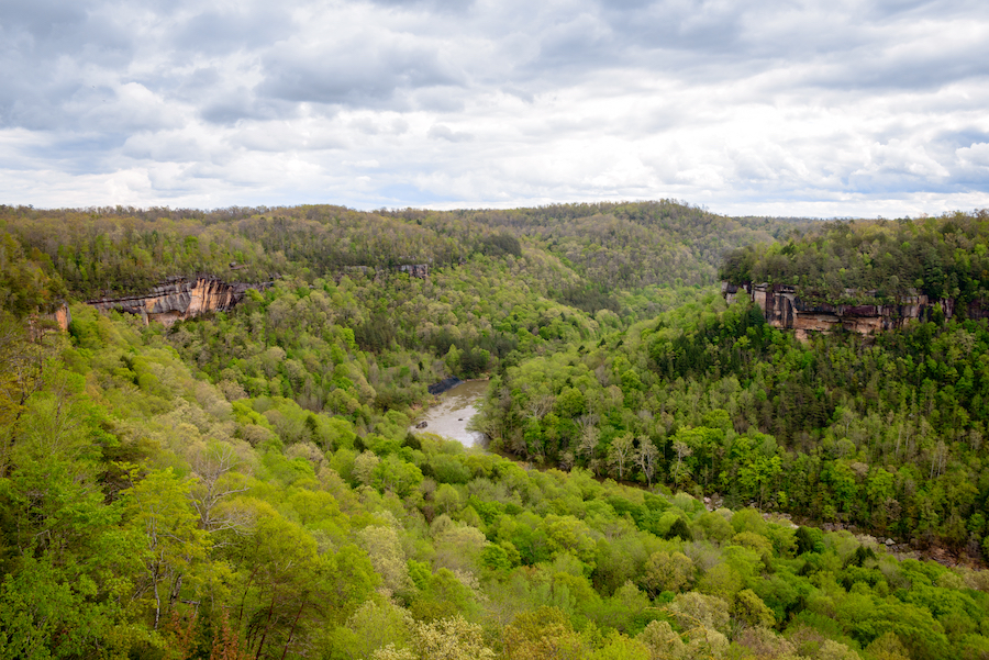 Big South Fork National Recreation Area in Tennessee.