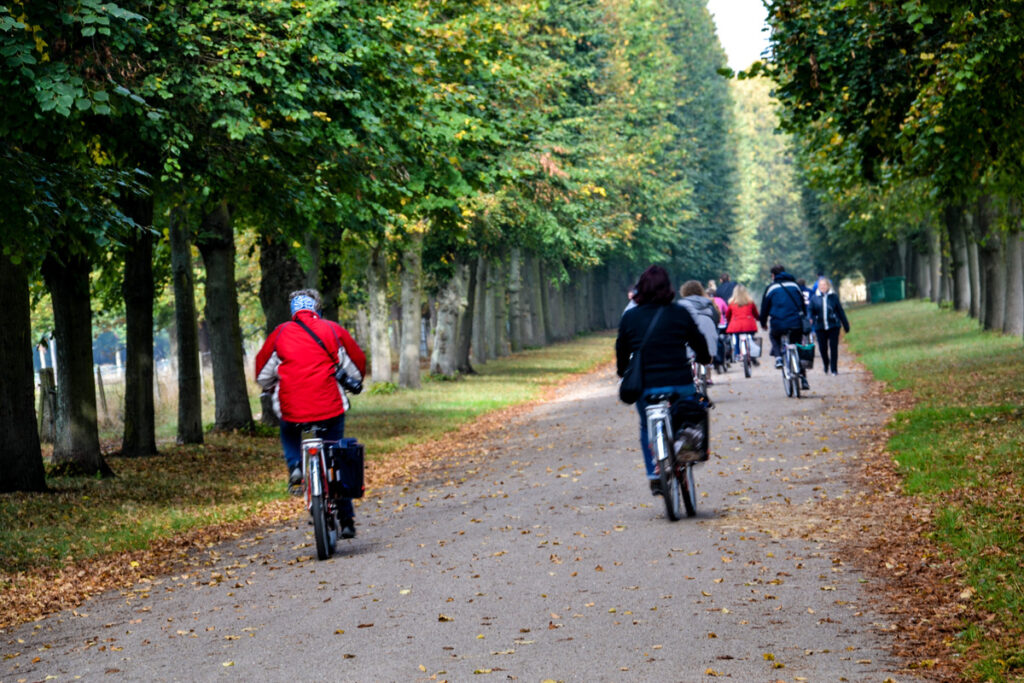 Bike tour of Versailles.