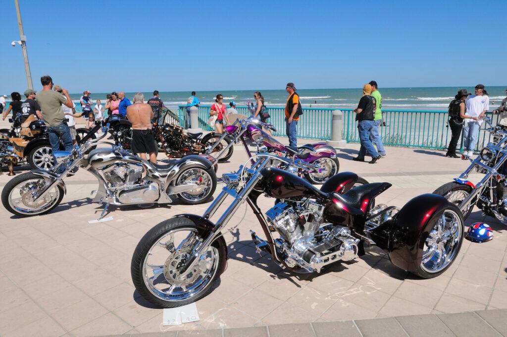 Bike Week in Daytona Beach, Florida.