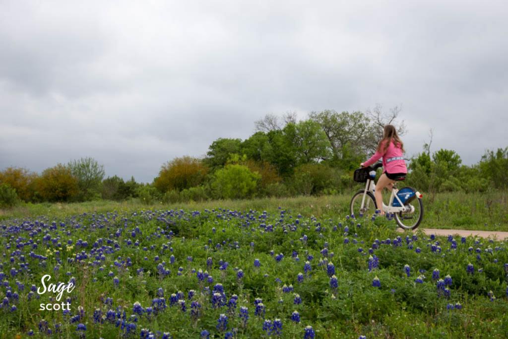 Biking the Mission Trail.
