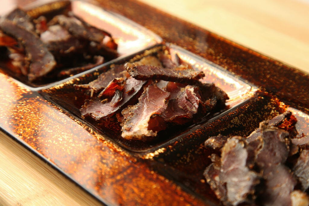 Biltong from South Africa.